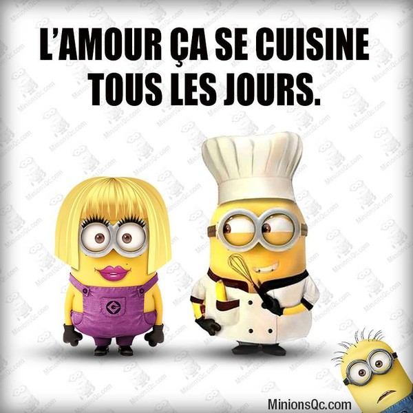 Minions - Les amoureux de la cuisine ...