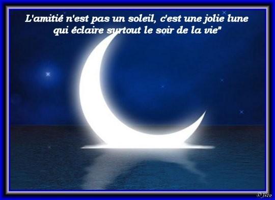 Amitité / Lune